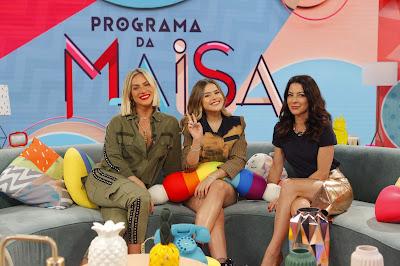 Gio, Maisa e Ana Paula (Foto: Gabriel Cardoso/SBT)