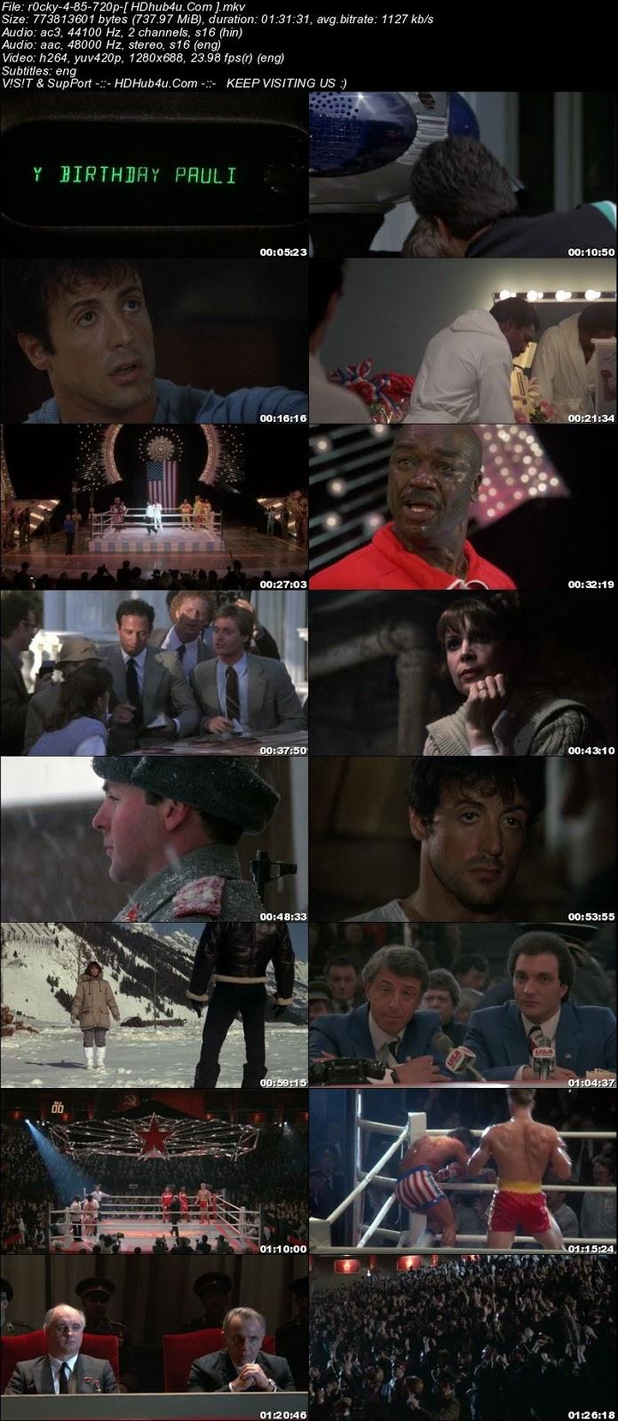 Rocky IV (1985) Hindi Dual Audio 720p BluRay Esub 700mb Download