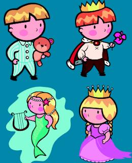 Clip Art: Serie de Personajes (4)