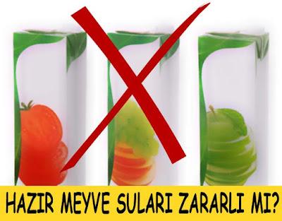 mevye suları zararları