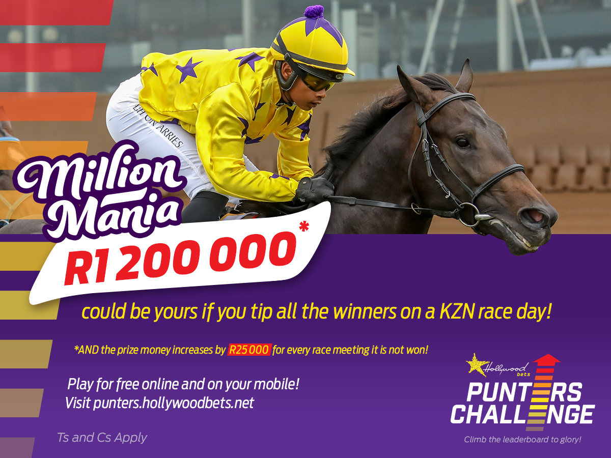 Winning Form Punters' Challenge Tips: Hollywoodbets Greyville - 1 February 2021