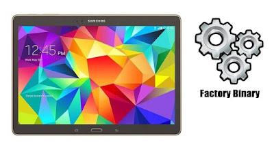 Samsung Galaxy Tab S 10.5 SM-T807A Combination Firmware
