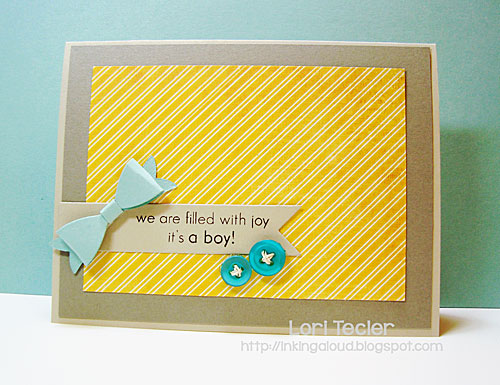 Filled with Joy card-designed by Lori Tecler/Inking Aloud-stamps and dies from Clear and Simple Stamps