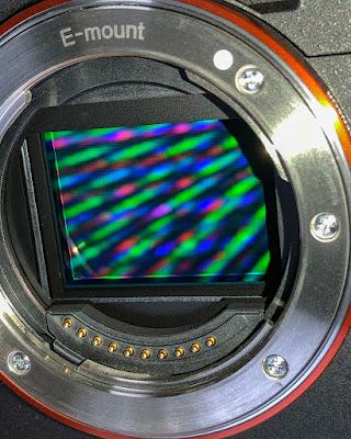 Bentuk sensor kamera