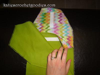 how to sew a diaper clutch