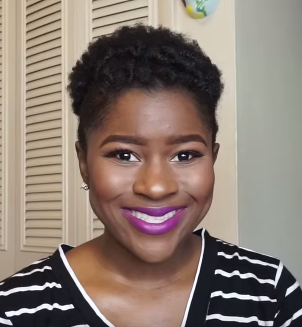 4C Natural Hairstyles : How To Do An Afro Puff On Short 4c