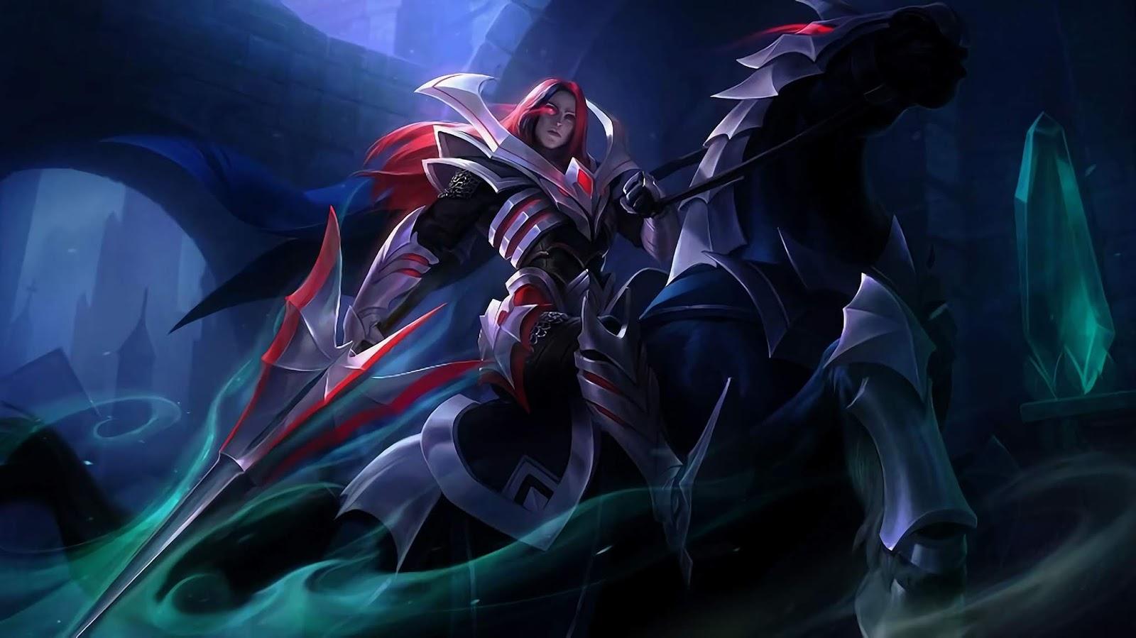 Wallpaper Leomord Phantom Knight Skin Mobile Legends Full HD for PC