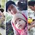 Isang Dakilang Ama, Masipag na Nagtatrabaho Habang Karga ang Kanyang Anak!