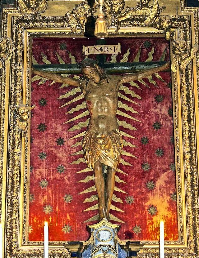 Santíssimo Crucifixo Milagroso, San Marcello,Via del Corso, Roma.