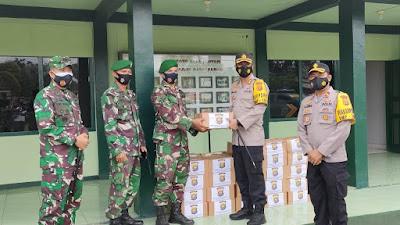 Mewujudkan Sinergitas Yang Kokoh TNI _ POLRI, Kapolres Merangin Sambangi Kodim 0420/Sarko