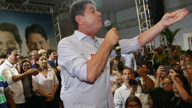 Sem 'mea culpa', será 'bem feito' PT perder a eleição, diz Cid Gomes