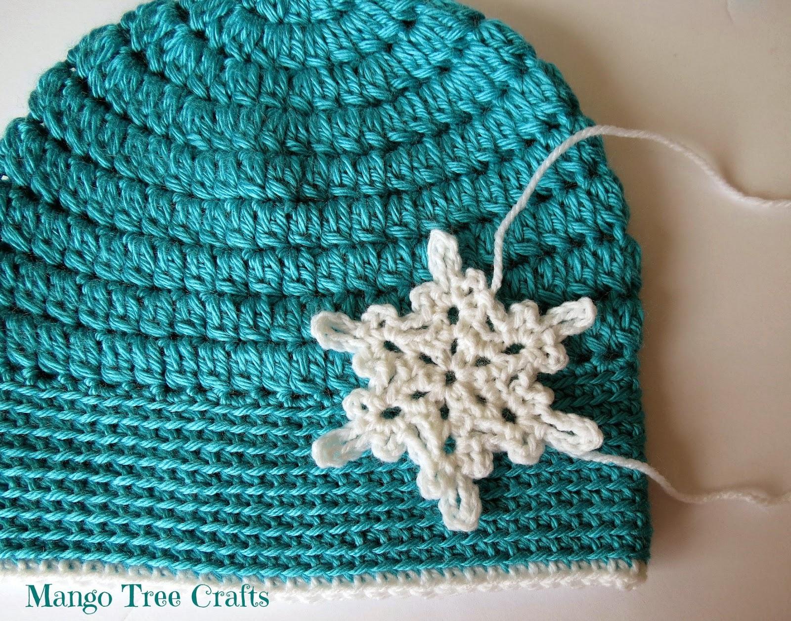 Ice Queen Crochet Hat Pattern