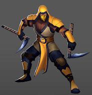 Mica Ninja summons hero