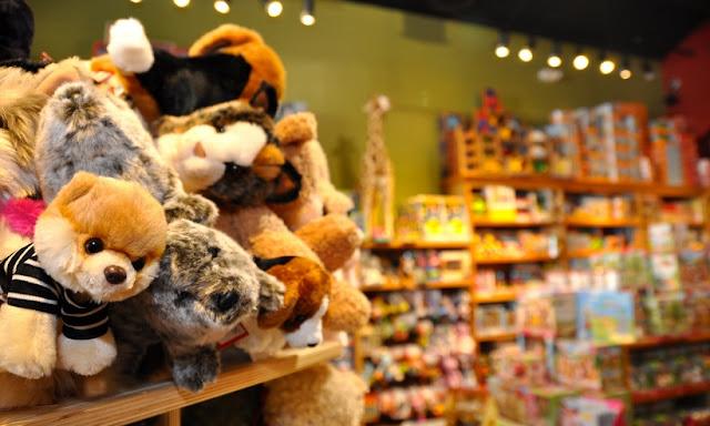 Loja de brinquedos em San Diego