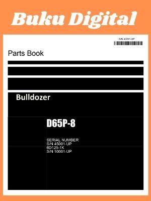 Part Book D65P-8 Bulldozer komatsu