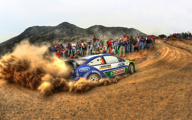 WRC racing and F1 races