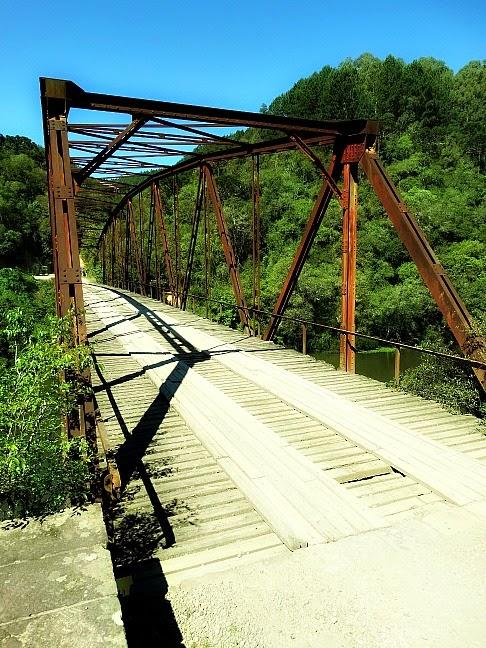 Ponte de Ferro do Passo do Inferno, São Francisco de Paula