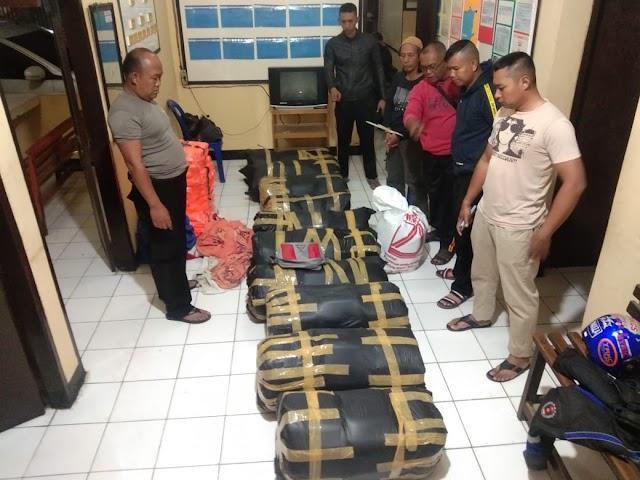 Kabid Humas Polda Jabar : Satpolair Polres  Sukabumi Ungkap Kasus Baby Lobster Senilai 27 Milyar