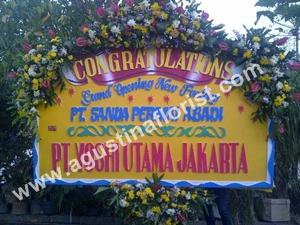bunga papan selamat surabaya 23