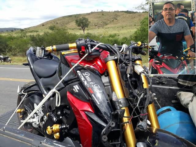 Conquistense, Gil do celular morre em acidente de moto, em Anagé