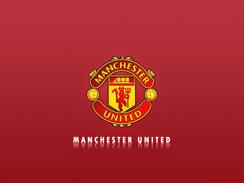 Manchester United Logo 1024 X 768 Background Free Download