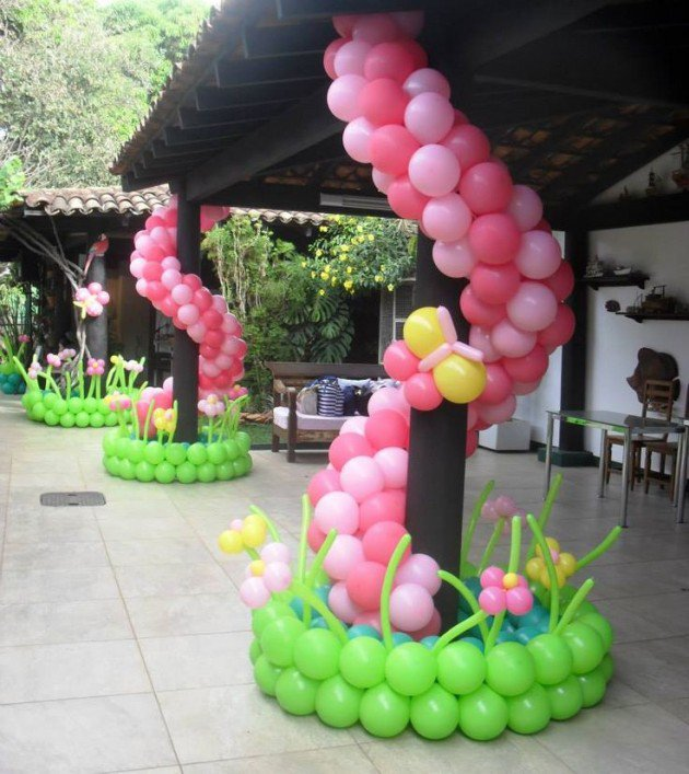 16 fabulous balloon decorations you can get ideas from for for Balloon decoration designs