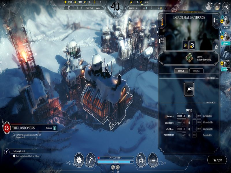 Download Frostpunk Free Full Game For PC