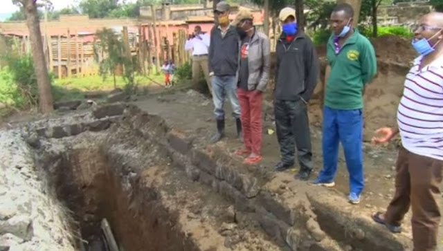 Kabatini 1.5 Million pit latrine collapses