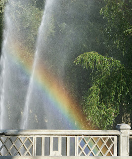 Photo of rainbow by Alexander Chechetkin from FreeImages