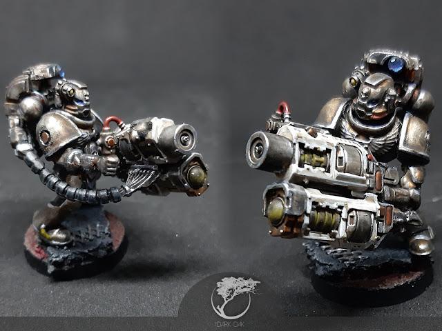 Iron Hands Devastator Squad