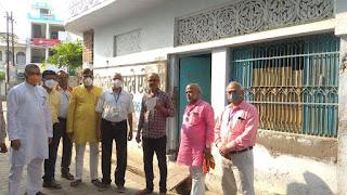 जालौन: नगर पालिका उरई एवं भारत विकास परिषद द्वारा वैक्सीनेशन कैम्प का आयोजन