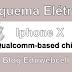 Esquema Elétrico Iphone X Qualcomm-based chipset