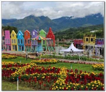 Flora wisata san terra di Malang