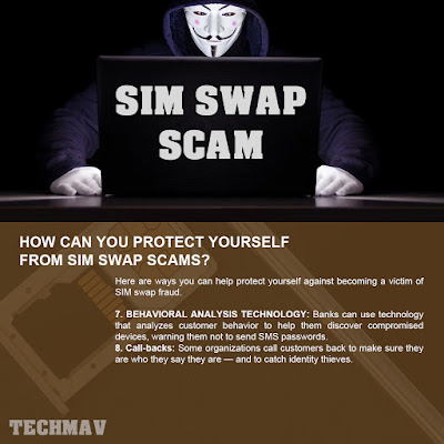 How can you protect yourself from SIM swap scams?