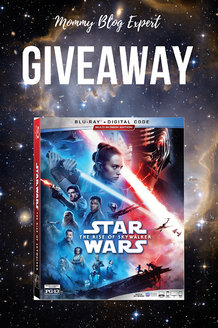 Star Wars The Rise of Skywalker Bluray Giveaway