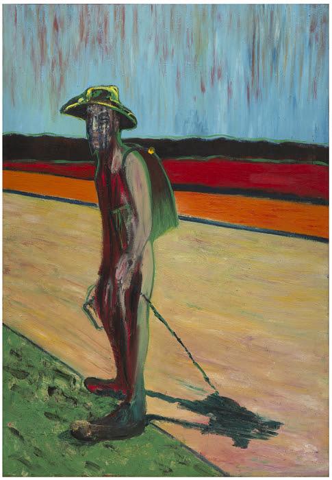 フランシス・ベーコンのヴァン・ゴッホの肖像のための習作Ⅴ