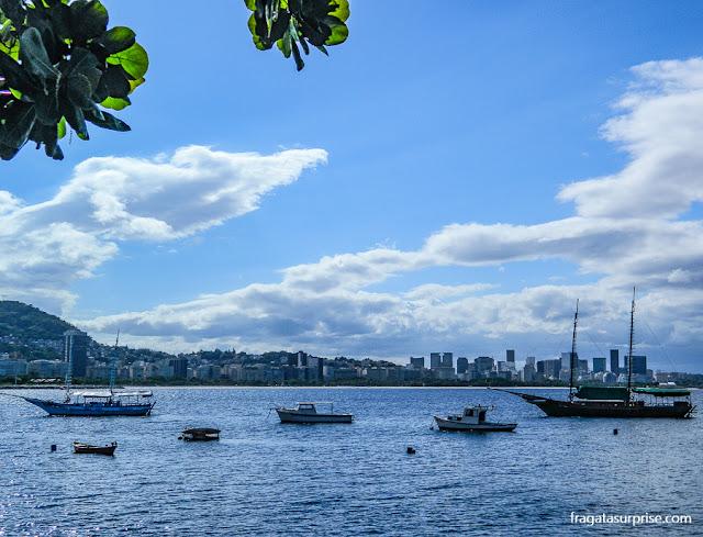 Vista do Bar Urca, Rio de Janeiro