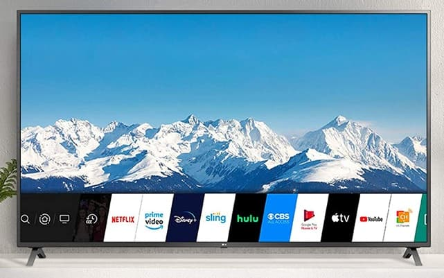 LG 86UN8570PUC: 86 '' Smart TV with 4K resolution, webOS platform, AirPlay 2 support and Ultra Surround sound
