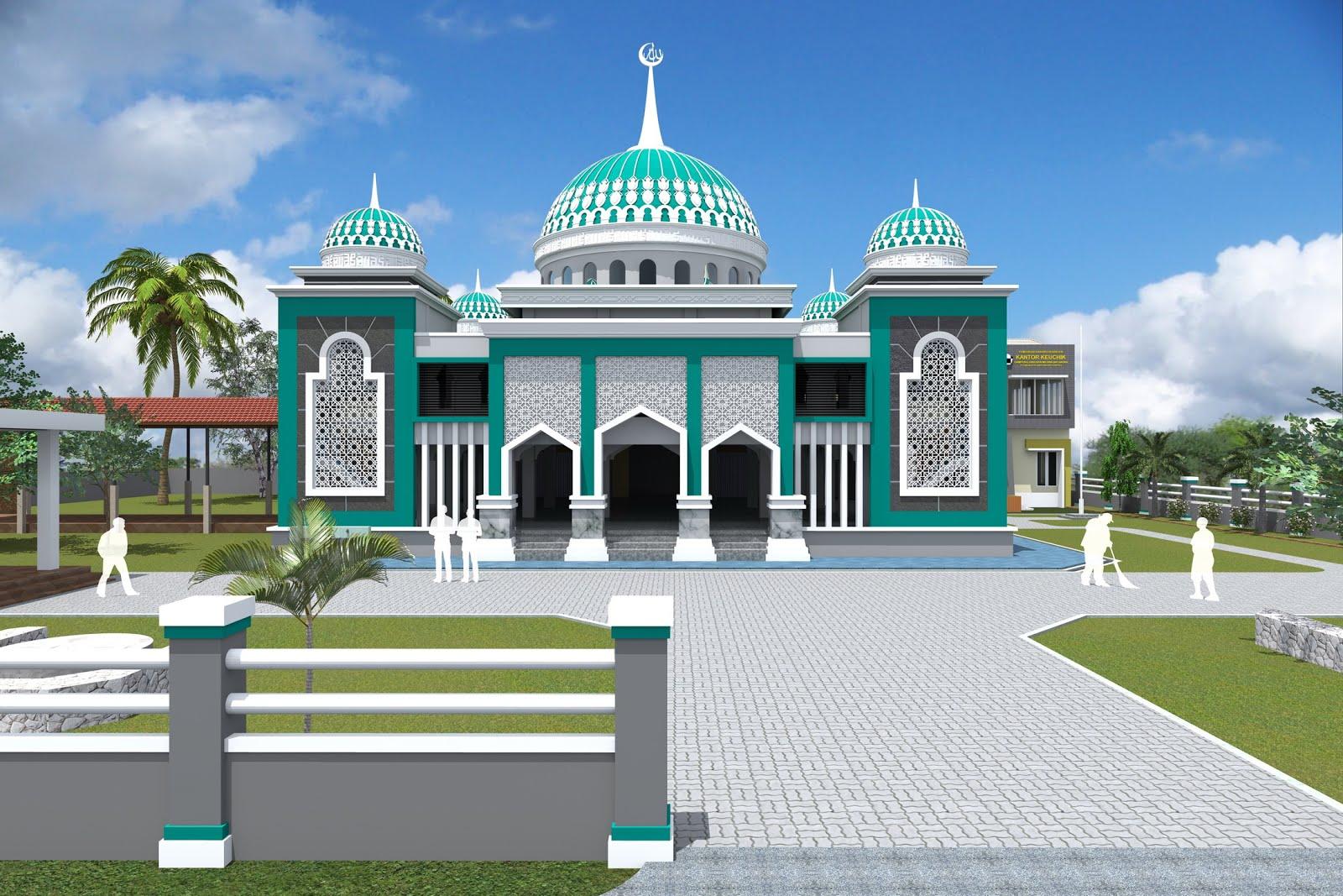 30 mô hình nhà thờ Hồi giáo tối giản với các mô hình nhà thờ Hồi giáo hiện đại từ