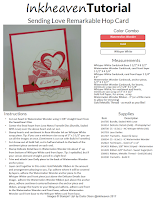 Sending Love RemARKable Hop Card Tutorial  Click Here To Download
