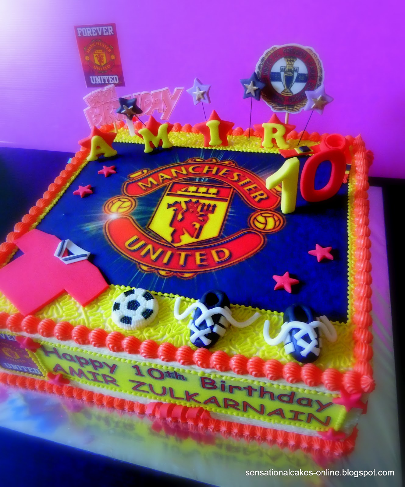 The Sensational Cakes Manchester United Cakes Singapore To Share