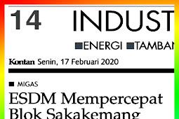ESDM Accelerates Sakakemang Block