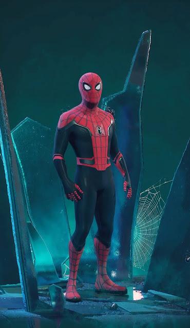 spider man into the spider verse wallpaper hd