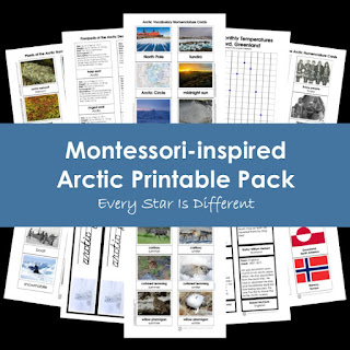 Montessori-inspired Arctic Printable Pack