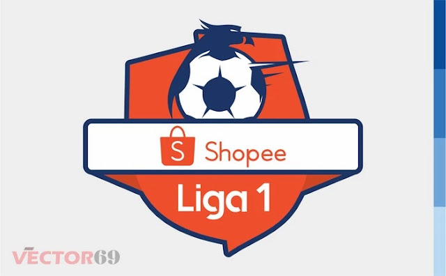Logo Shopee Liga 1 Indonesia - Download Vector File EPS (Encapsulated PostScript)