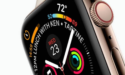 Apple declared the Apple Watch Series four nowadays, that is touted as being diluent than previous models.