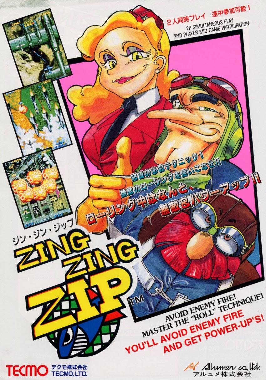 Zing Zing Zip+arcade+game+portable+retro+shooter+cool+art+flyer