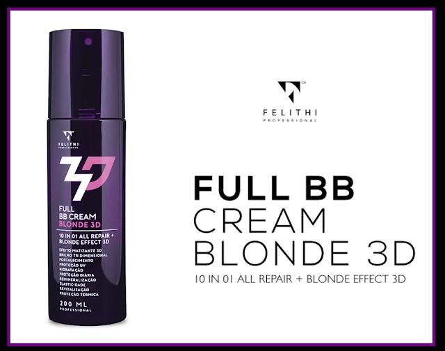 Resenha Full BB Cream Blonde 3D Felithi Cosmeticos