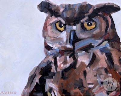 stella-owl-painting-merrill-weber