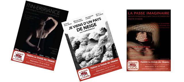 Théâtre la croisée des chemins : oeuvres contemporaines seul en scène